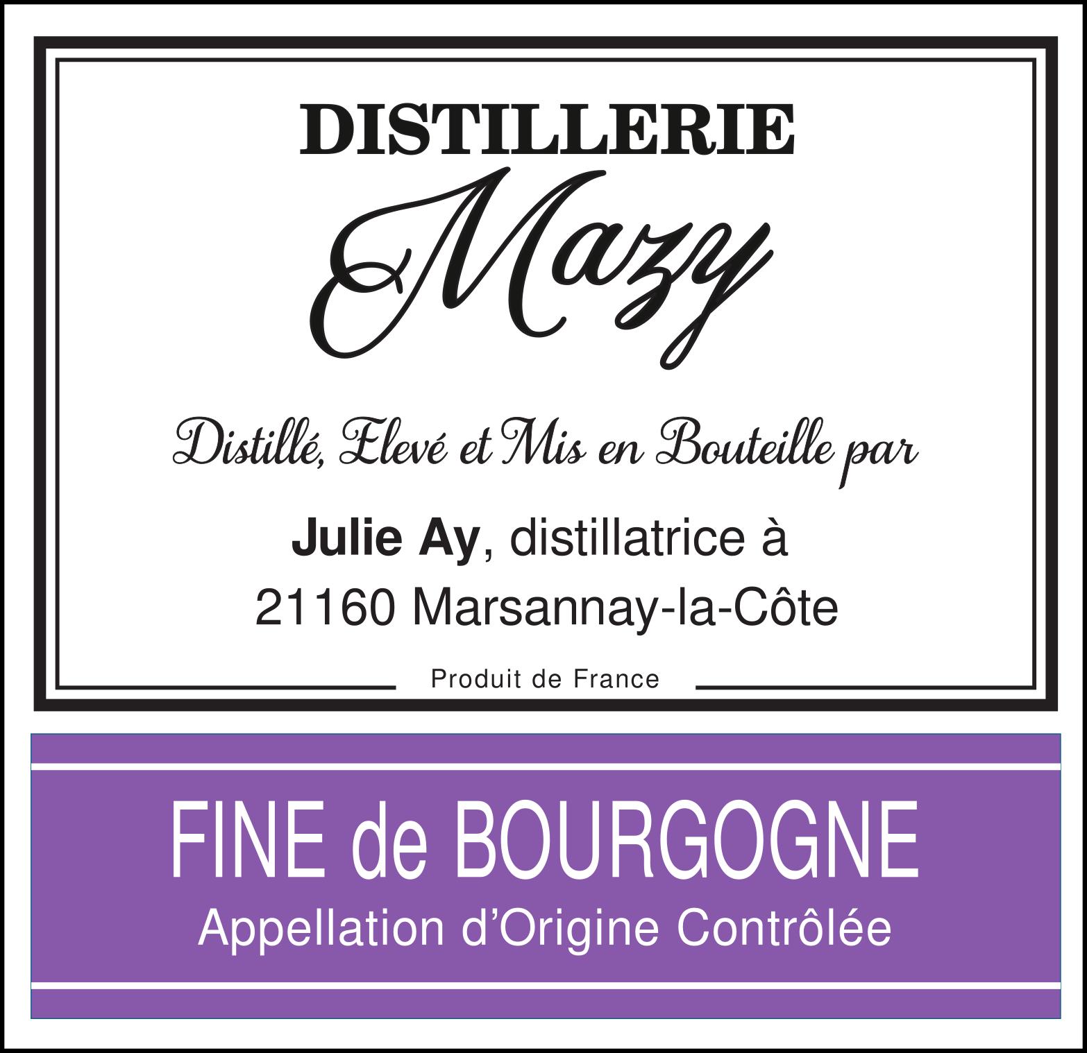 AOC Fine de Bourgogne